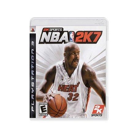 NBA 2K7 - Usado - PS3