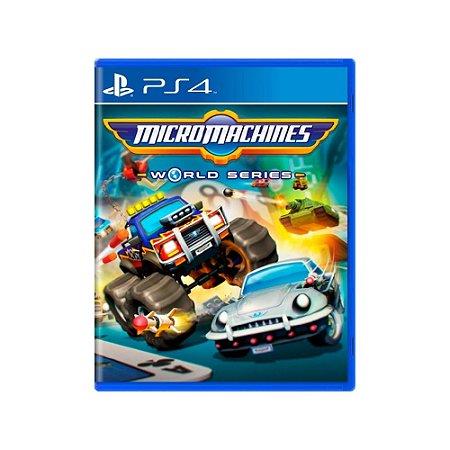 Micro Machines World Series - Usado - PS4