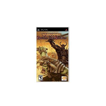 Warhammer Battle for Atluma - Usado - PSP