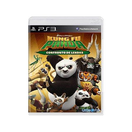 Kung Fu Panda Confronto de Lendas - Usado - PS3