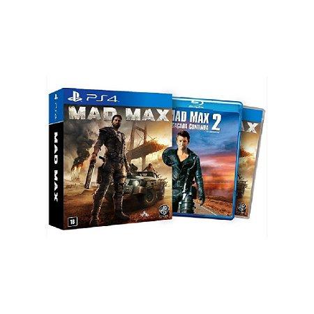 Mad Max + Filme - Usado - PS4