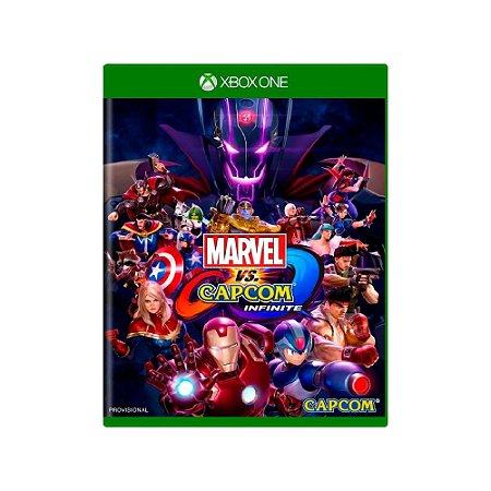 Marvel Vs Capcom Infinite - Usado - Xbox One