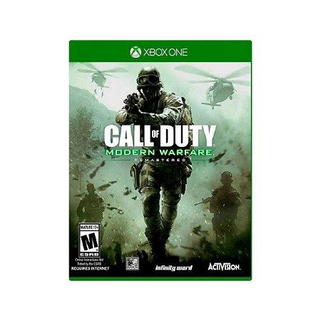 Call of Duty Modern Warfare Remastered - Usado - Xbox One