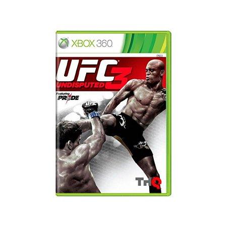 UFC Undisputed 3 - Usado - Xbox 360