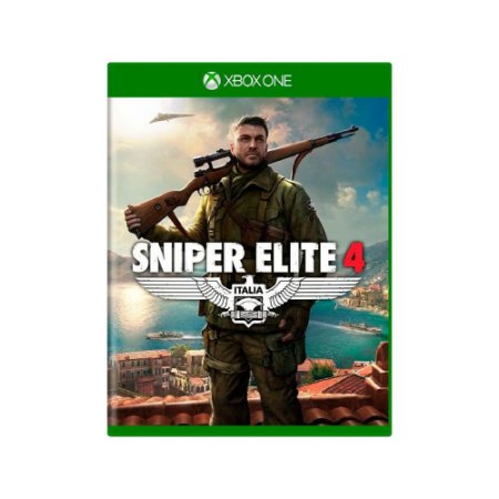 Sniper Elite 4 - Usado - Xbox One