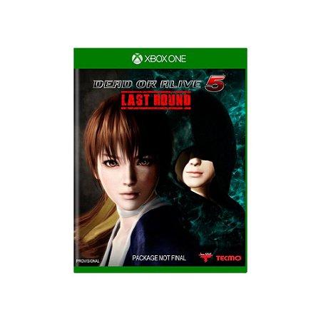 Dead or Alive 5 Last Round - Usado - Xbox One