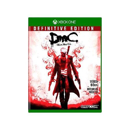 DmC Devil May Cry Definitive Edition - Usado - Xbox One