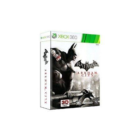 Batman Arkham City + HQ Batman Detetive - Usado - Xbox 360
