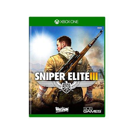Sniper Elite III - Usado - Xbox One
