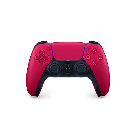 Controle sem fio DualSense Cosmic Red Sony - PS5