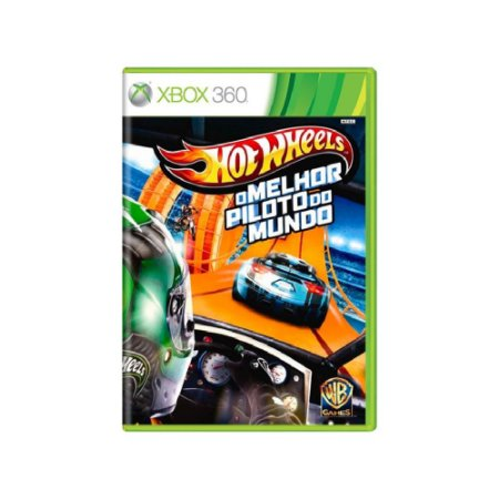 Hot Wheels O Melhor Piloto do Mundo - Usado - Xbox 360