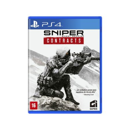 Sniper Ghost Warrior Contracts - Usado - PS4