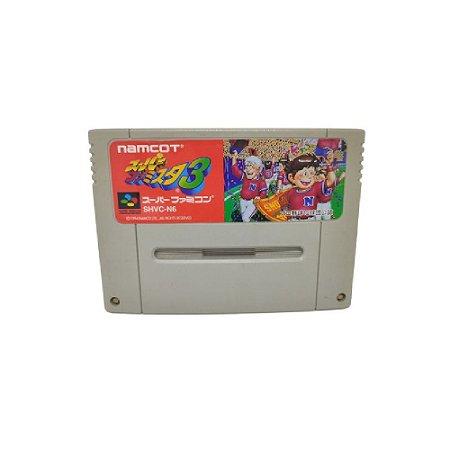 Baseball 3 Namcot - Usado - Super Famicom