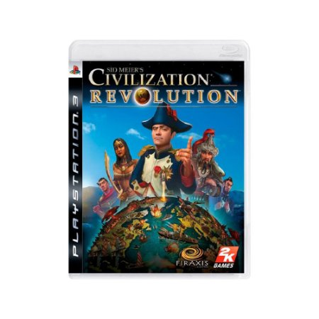 Sid Meier's Civilization Revolution - Usado - PS3