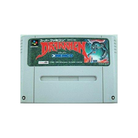 Drakkhen - Usado - Super Famicom