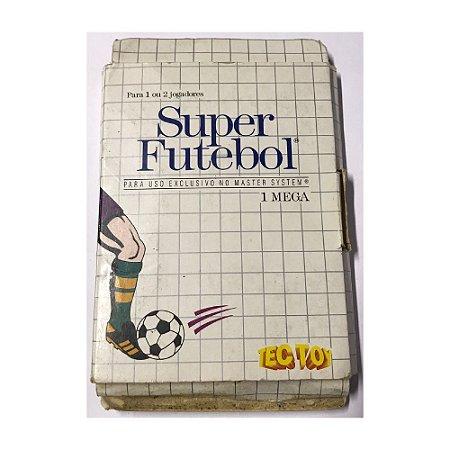 Super Futebol - Usado - Master System