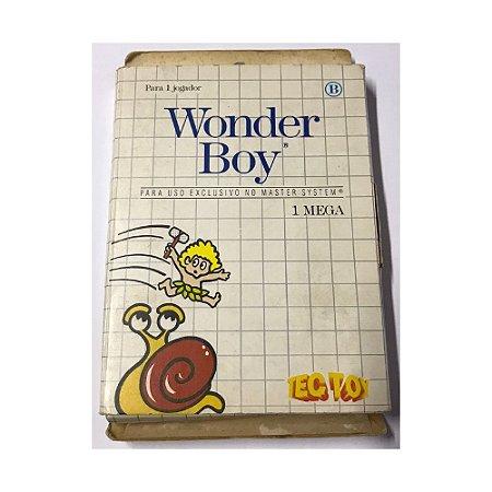 Wonder Boy - Usado - Master System
