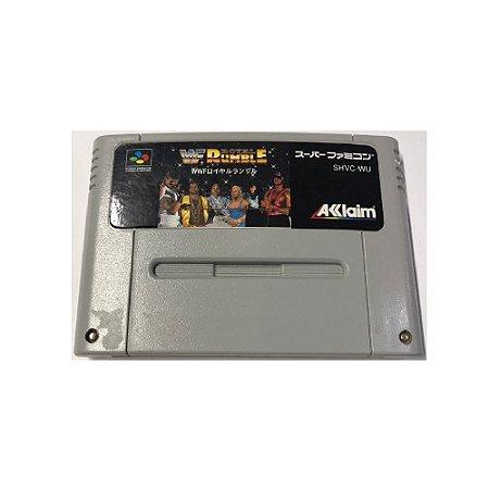 WWF Royal Rumble - Usado - Super Famicom