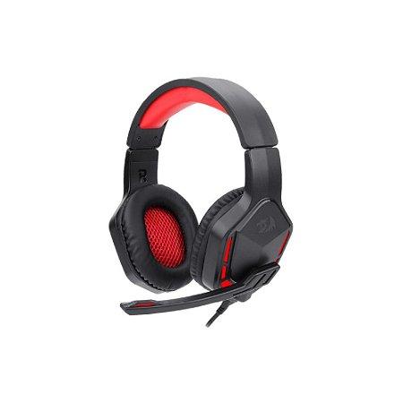 Headset Gamer Redragon Themis 2 Preto/Vermelho - H220N