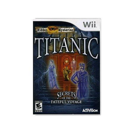 Hidden Mysteries Titanic Secrets Of The Fateful Voyage - Usado - Wii