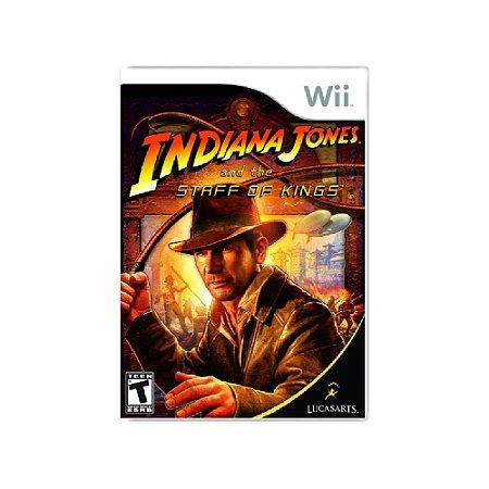 Indiana Jones and the Staff of Kings - Usado - Wii