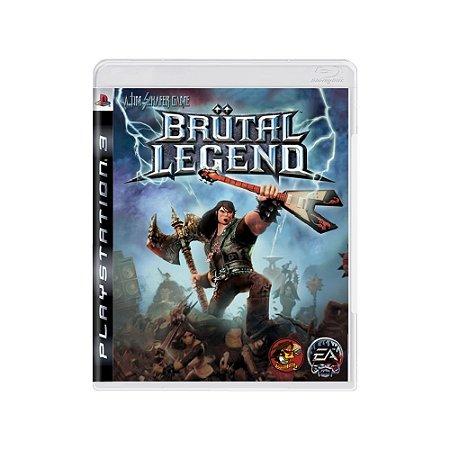 Brutal Legend - Usado - PS3