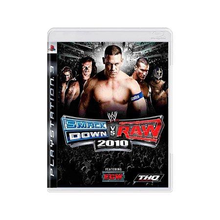 WWE SmackDown VS Raw 2010 - Usado - PS3
