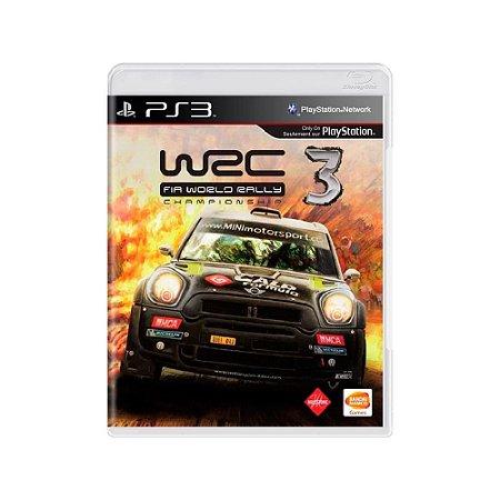 WRC 3: Fia World Rally Championship - Usado - PS3