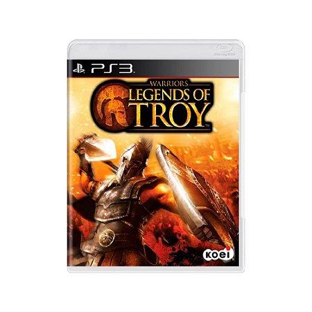 Warriors Legends Of Troy - Usado - PS3