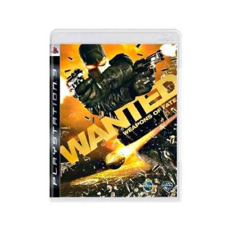 Wanted: Weapons of Fate - Usado - PS3