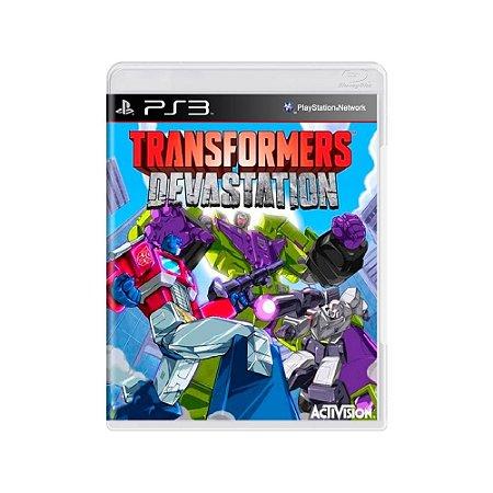 Transformers: Devastation - Usado - PS3