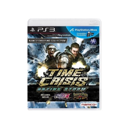Time Crisis: Razing Storm - Usado - PS3