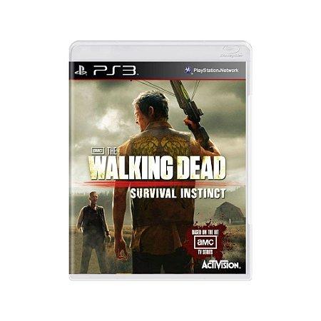 The Walking Dead: Survival Instinct - Usado - PS3