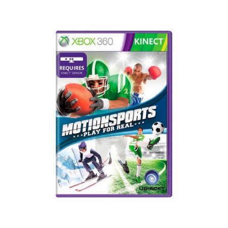 Motionsports: Play For Real - Usado - Xbox 360