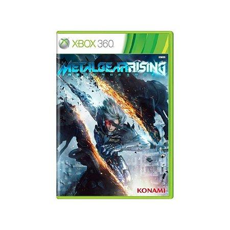 Metal Gear Rising Revengeance - Usado - Xbox 360