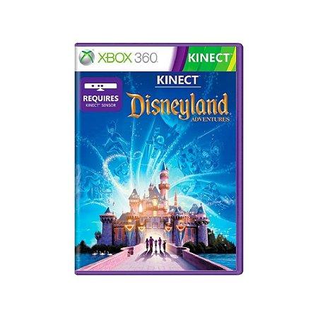 Kinect Disneyland Adventures - Usado - Xbox 360