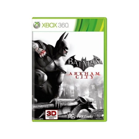 Batman Arkham City - Usado - Xbox 360