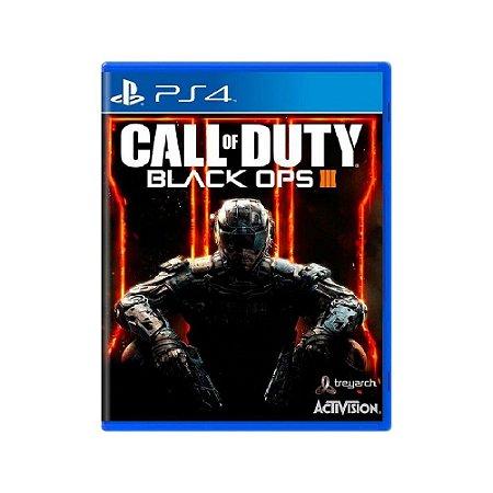 Jogo Call of Duty: Black Ops III - PS4