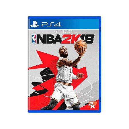 NBA 2K18 - Usado - PS4