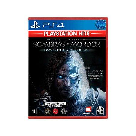 Terra-Média: Sombras de Mordor (GOTY) - PS4