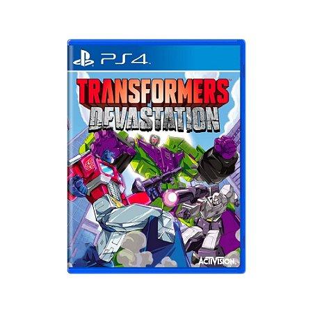 Transformers: Devastation - Usado - PS4