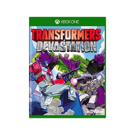 Transformers Devastation - Usado - Xbox One