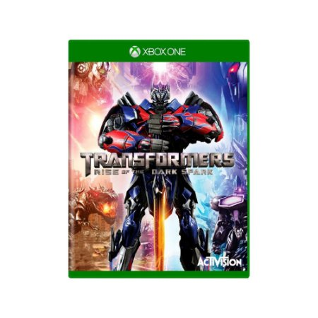 Transformers Rise Of The Dark Spark - Usado - Xbox One
