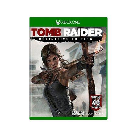 Tomb Raider (Definitive Edition) - Usado - Xbox One