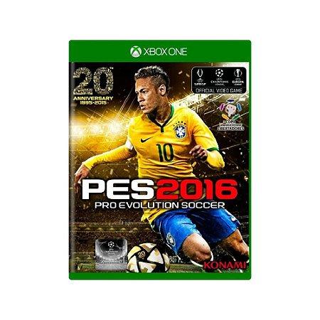 Pro Evolution Soccer 2016 (PES 2016) - Usado - Xbox One