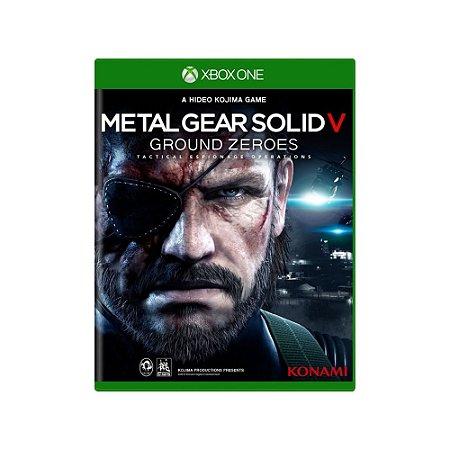 Metal Gear Solid V: Ground Zeroes - Usado - Xbox One