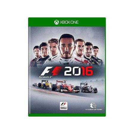 Formula 1 2016 - Usado - Xbox One