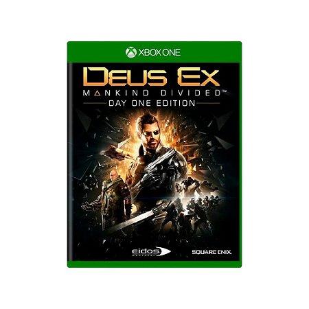 Deus Ex: Mankind Divided - Usado - Xbox One