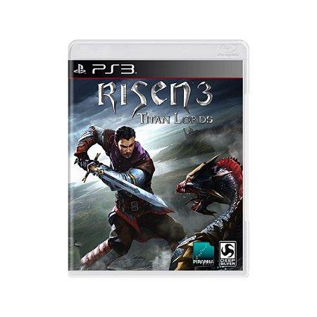 Risen 3: Titan Lords - Usado - PS3