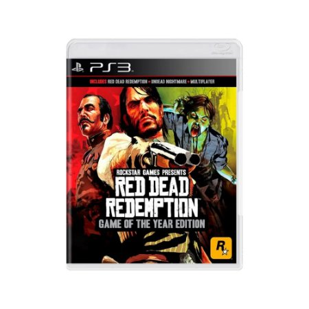 Red Dead Redemption (Game Of The Year Edition) - Usado - PS3